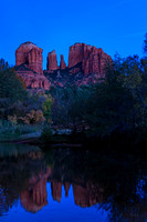 Blue Hour at Cathedral Rock